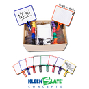 Kleenslate Concepts KLS50027044 Rectangular Paddles Double Sided 32 Blank Graph