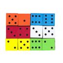 Koplow Games KOP17332 16Mm Foam Dice 12Pk Assorted Color Spot
