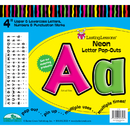 Barker Creek & Lasting Lessons LAS1703 Neon Letter Pop-Outs