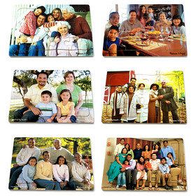 Melissa & Doug LCI1249 Realistic Multigenerational Multicultural Family Puzzle Set, Price/EA