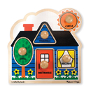 Melissa & Doug LCI2053 First Shapes Jumbo Knob Puzzle