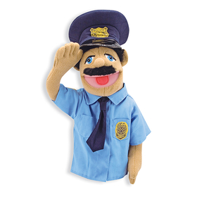 Melissa & Doug LCI2551 Police Officer Puppet, Price/EA