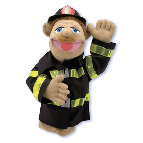 Melissa & Doug LCI2552 Firefighter Puppet, Price/EA
