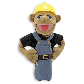 Melissa & Doug LCI2555 Construction Worker Puppet, Price/EA