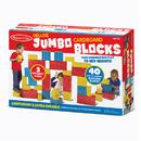 Melissa & Doug LCI2784 Deluxe Jumbo Cardboard Blocks 40 Pc