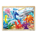 Melissa & Doug LCI2938 Under The Sea Puzzle