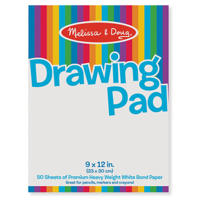 Melissa & Doug LCI4108 Drawing Pad 9 X 12, Price/EA