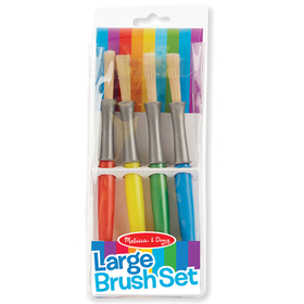 Melissa & Doug LCI4117 Large Paint Brushes Set Of 4, Price/EA