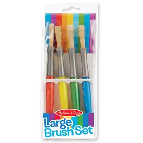 Melissa & Doug LCI4117 Large Paint Brushes Set Of 4, Price/EA