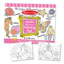 Melissa & Doug LCI4225 Jumbo Coloring Pad Pink 11 X 14