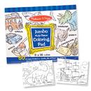 Melissa & Doug LCI4226 Jumbo Coloring Pad Blue 11 X 14