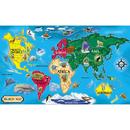 Melissa & Doug LCI446 Floor Puzzle World Map
