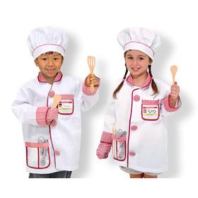 Melissa & Doug LCI4838 Chef Role Play Costume Set, Price/EA