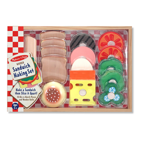 Melissa & Doug LCI513 Sandwich-Making Set, Price/EA