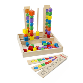 Melissa & Doug LCI570 Bead Sequencing Set, Price/EA