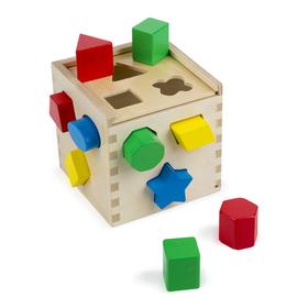 Melissa & Doug LCI575 Shape Sorting Cube, Price/EA