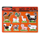 Melissa & Doug LCI726 Farm Animals Sound Puzzle