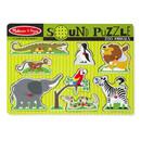 Melissa & Doug LCI727 Zoo Animals Sound Puzzle