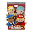 Melissa & Doug LCI9086 Jolly Jobs Hand Puppets
