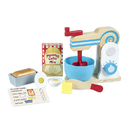 Melissa & Doug LCI9840 Wooden Make A Cake Mixer Set