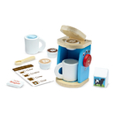 Melissa & Doug LCI9842 Wooden Brew & Serve Coffee Set