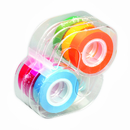 Lee Products LEE19188 Removable Highlighter Tape 1 Roll Each Of Six Fluorescent Colors