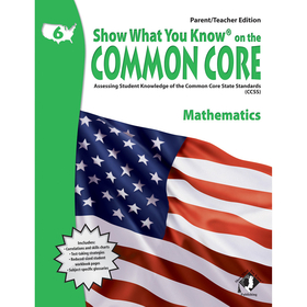 Lorenz / Milliken LEPNA3620 Gr 6 Parent Teacher Edition Math Show What You Know On The Common, Price/EA