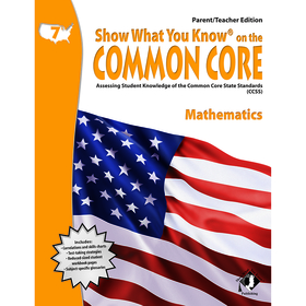 Lorenz / Milliken LEPNA3720 Gr 7 Parent Teacher Edition Math Show What You Know On The Common, Price/EA