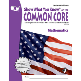 Lorenz / Milliken LEPNA3821 Gr 8 Student Workbook Mathematics Show What You Know On The Common, Price/EA