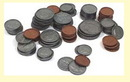 Learning Resources LER0101B Coins Only For Coins In A Bank 94Pk Plastic