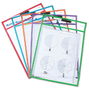 Learning Resources LER0477 Write & Wipe Pockets