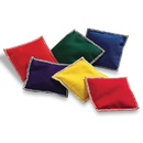 Learning Resources LER0545 Bean Bags Rainbow 6/Pk