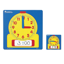 Learning Resources LER0573 Write-On/Wipe-Off Demonstration 12 Square Clock