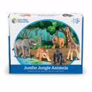 Learning Resources LER0693 Jumbo Jungle Animals