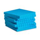 Learning Resources LER0926 Base Ten Flats Plastic Blue 10/Pk 1X10X10Cm