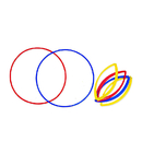 Learning Resources LER1286 Grouping Circles 6/Pk 20 Diameter - 2Ea Red Blue And Yellow