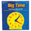 Learning Resources LER2094 Big Time Clock Demonstration 12 Hr 13-1/4H Plastic
