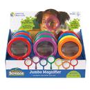 Learning Resources LER2775 Jumbo Magnifier Countertop 12/Set Display Pop