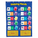 Learning Resources LER2903 Pocket Chart Helping Hands