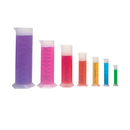 Learning Resources LER2906 Graduated Cylinders 10/25/50/100/250/500/1000 Mls