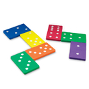 Learning Resources LER6380 Jumbo Foam Dominoes Set Of 28