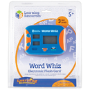 Learning Resources LER6964 Word Whiz Electronic Flash Card