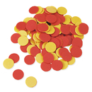 Learning Resources LER7566 Two Color Counters Red And Yellow Set Of 200