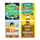Lerner Publications LPB1512458554 Kids Get Coding Set Of 4 Books