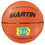 Dick Martin Sports MASB10O Basketball Official Orange Rubber Nylon Wound