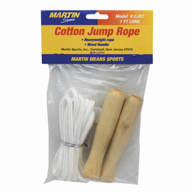 Dick Martin Sports MASCJR7 Jump Rope Cotton 7Wood Handle, Price/EA