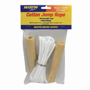Dick Martin Sports MASCJR8 Jump Rope Cotton 8Wood Handle