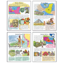 Mcdonald Publishing MC-P090 Ancient American Cultures Teaching Poster Set