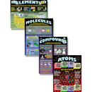 Mcdonald Publishing MC-P153 Atoms Elements Molecules Compounds Poster Set