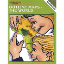 Mcdonald Publishing MC-R658 Outline Maps The World